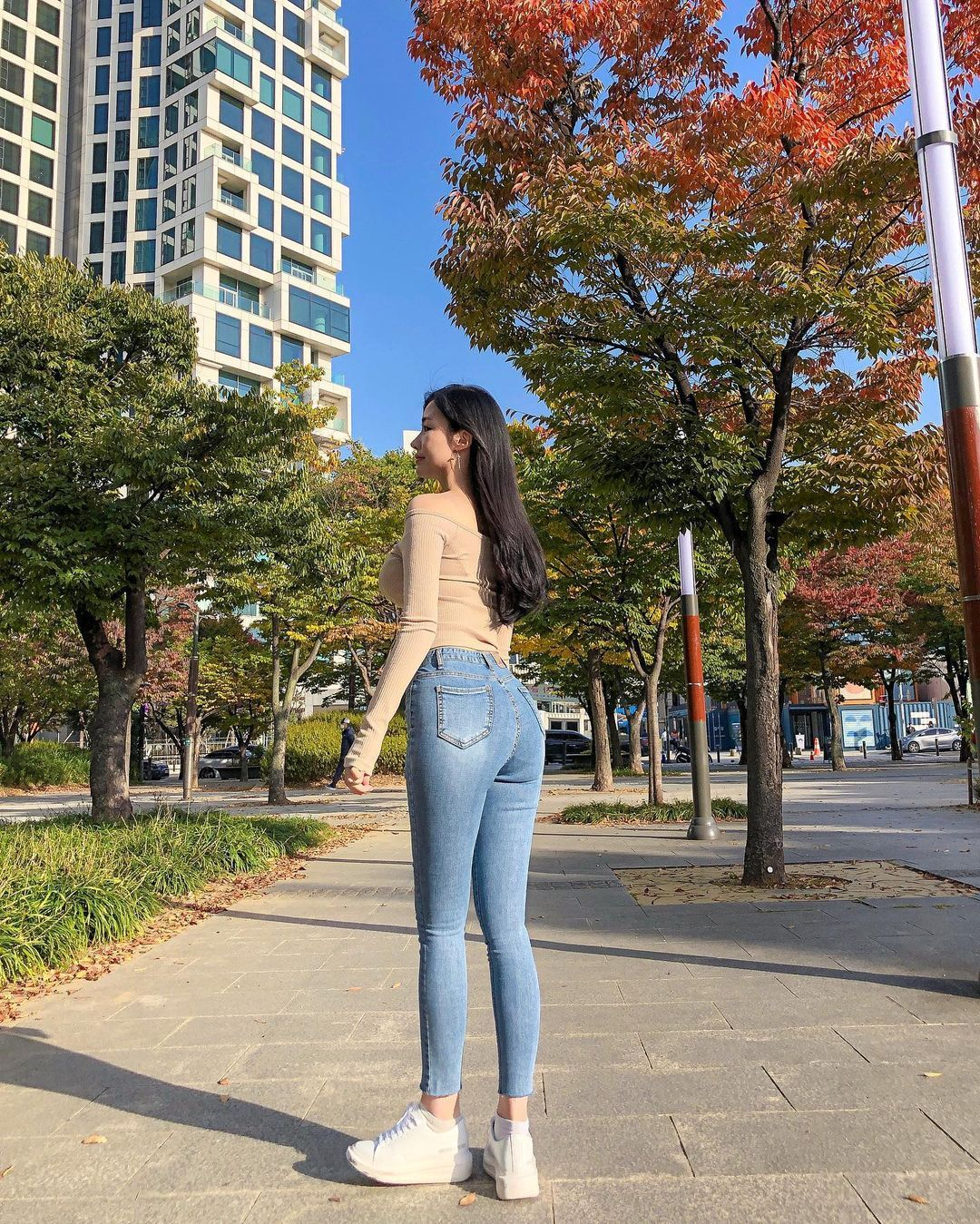 清凉穿着自己卖 [韩国泳衣阙娘Yebin]亲自试穿性感度满点 养眼图片 第30张
