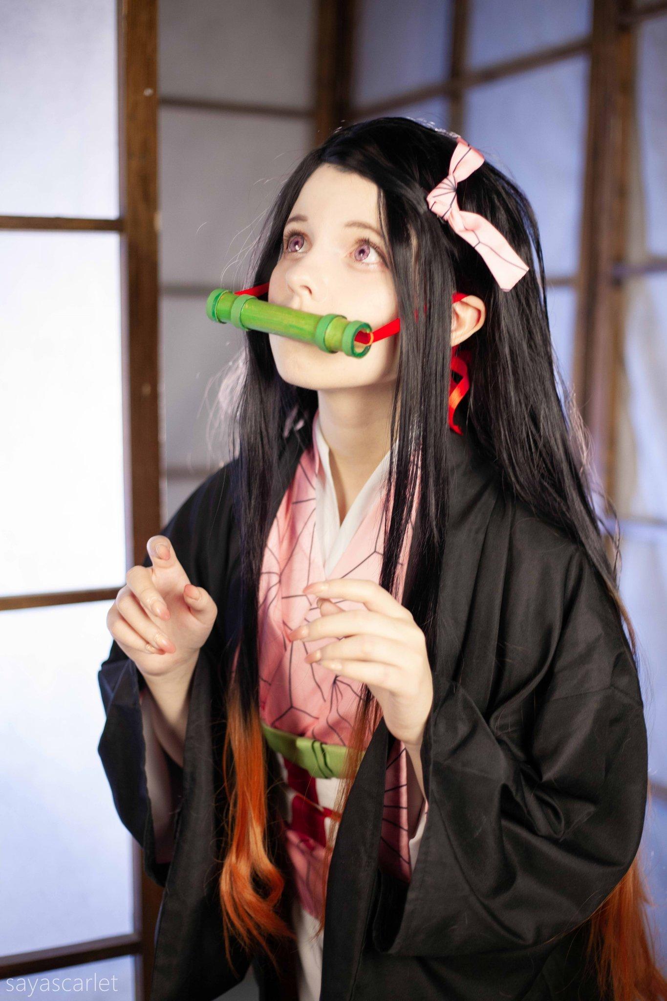 [正妹]日本餐厅出现初音真人 俄罗斯正妹[Saya Scarlet]飘洋过海追梦 养眼图片 第12张