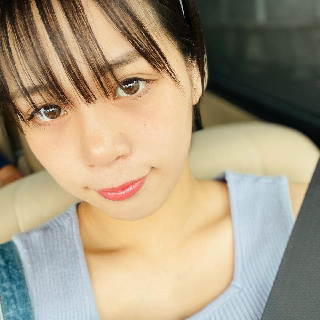 选美比赛冠军 短发高中妹山冈雅弥16岁青春 深邃卧蚕双眼彷佛随时在放电 网络美女 第2张