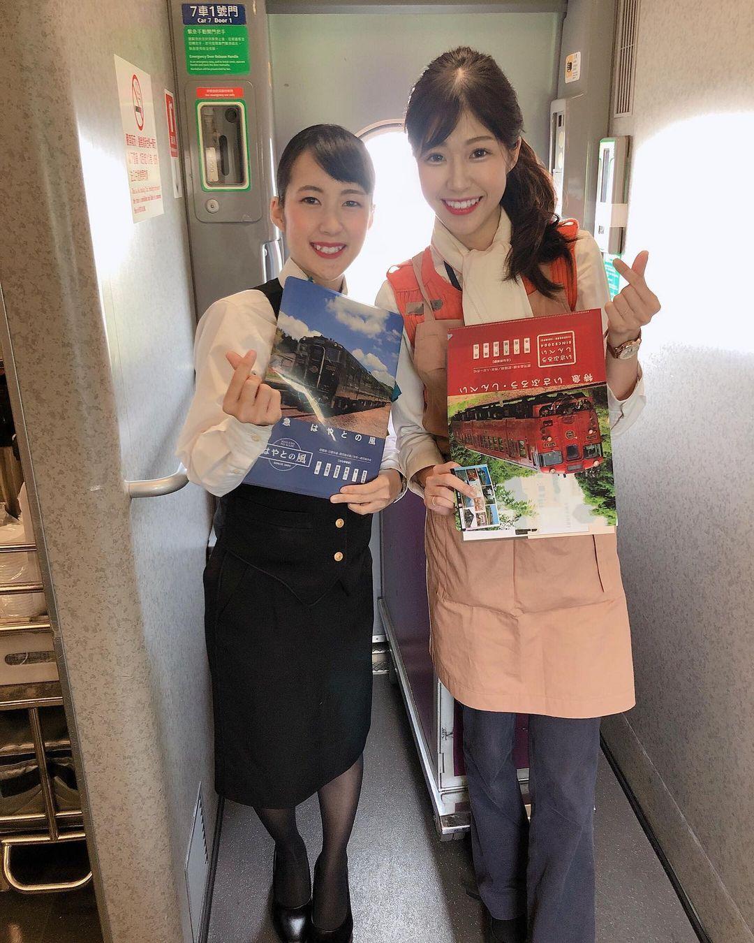 恋爱般的旅程 高铁正妹乘务员