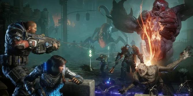 《战争机器》一款杰出的TPS类经典游戏
