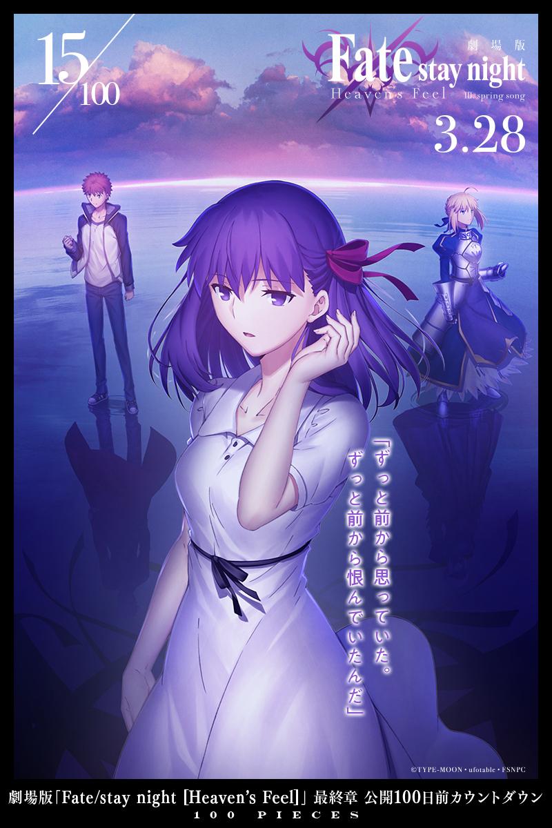 《Fate HF》剧场版最终章开播倒计时100天每日视觉图(19-13)- ACG17.COM