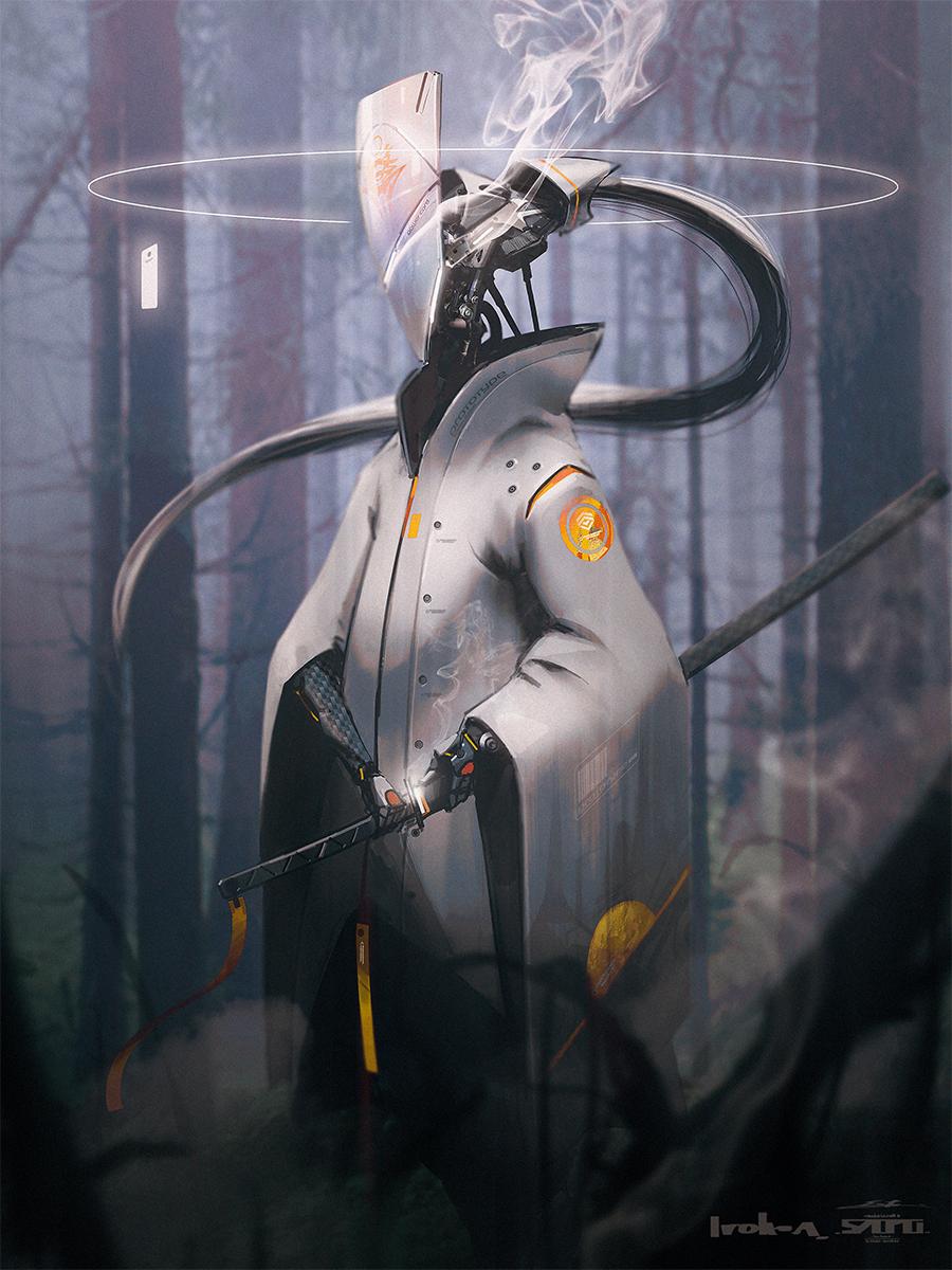 【P站画师】血肉苦弱,机械飞升!日本画师えすてぃお的插画作品- ACG17.COM
