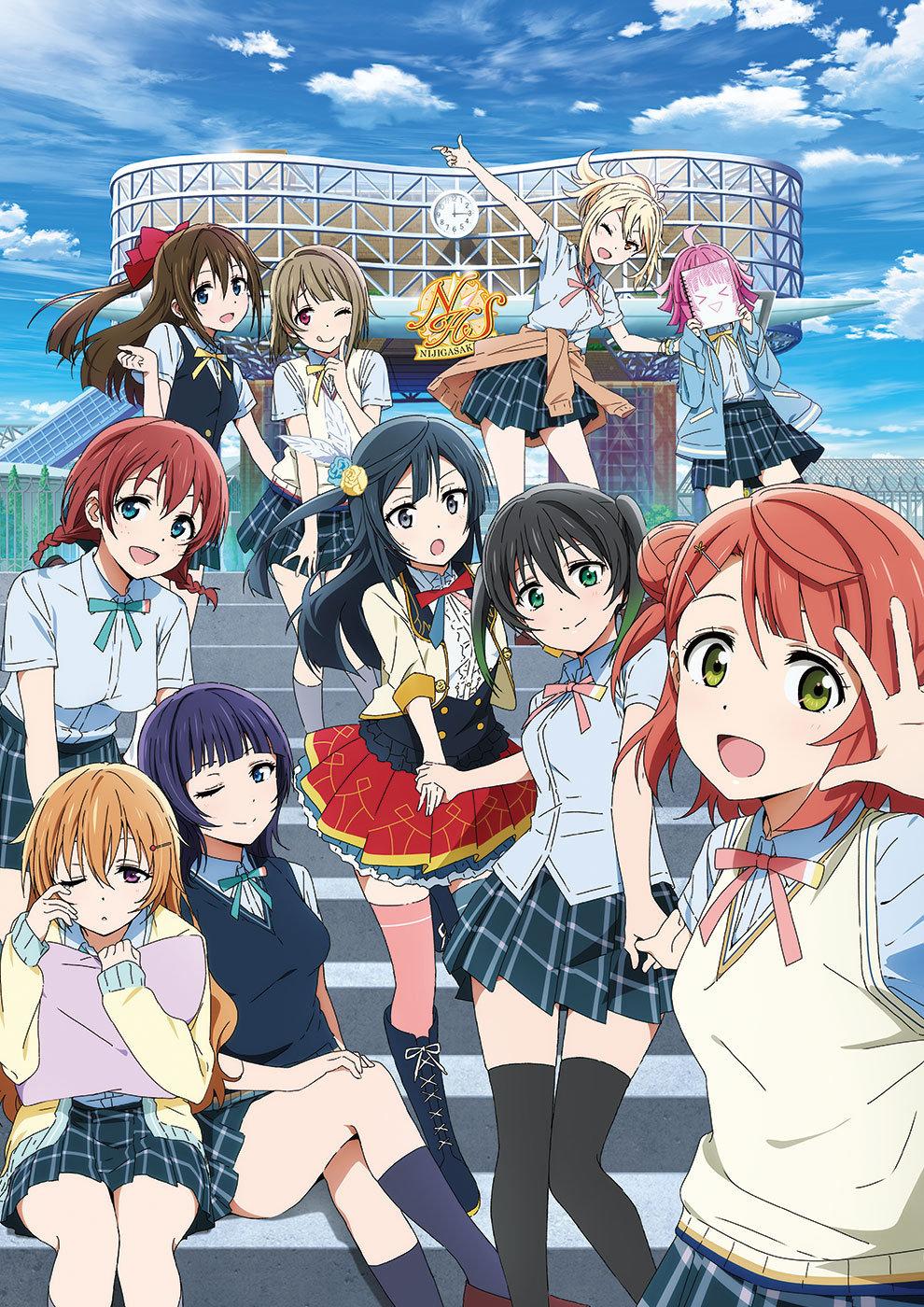 【动漫情报】TV动画《LoveLive!虹咲学园学园偶像同好会》PV公开,10月3日开播