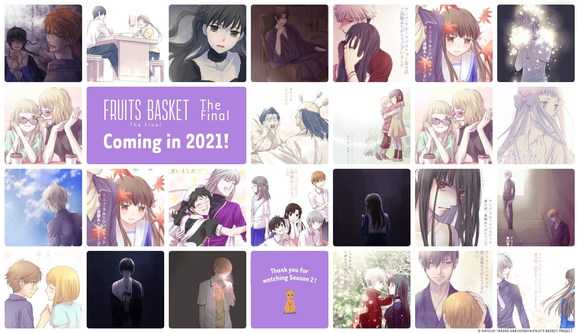 《寻找见习魔女》新视觉图公开、TV动画《水果篮子》最终章2021年播出