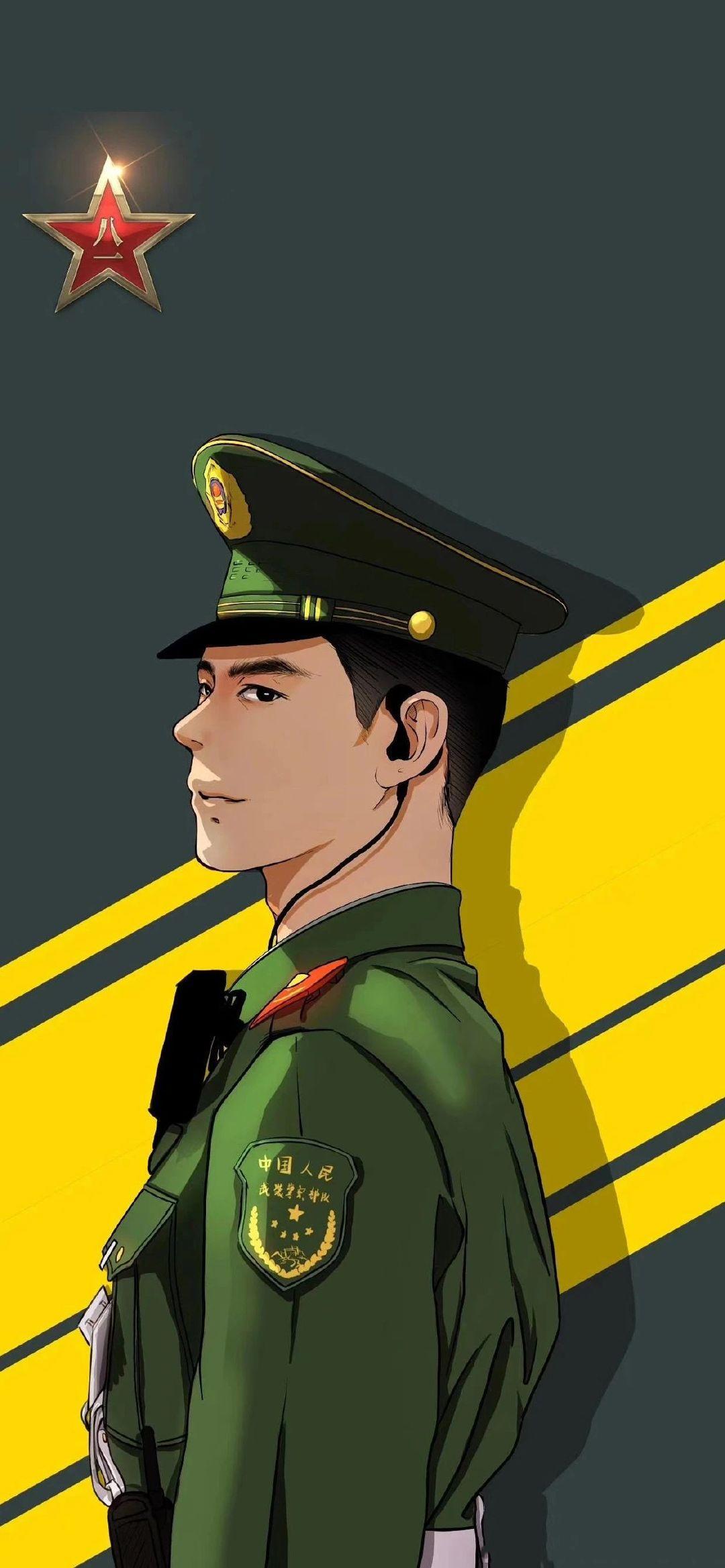 5f4fac4a7dec4 - 军人壁纸:哪有什么岁月静好,不过是有人替你负重前行