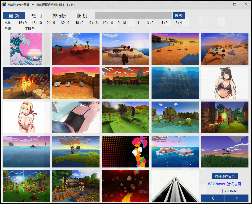 Windows | 3M大小的 Wallhaven壁纸软件体验高清壁纸插图1