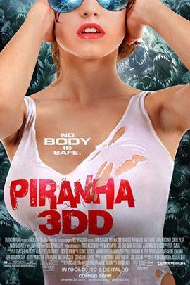 食人鱼3DD的海报