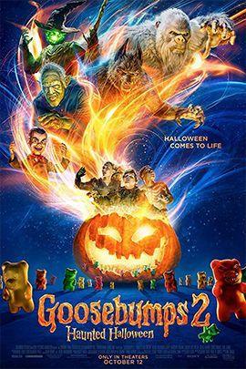 鸡皮疙瘩2:闹鬼万圣节的海报