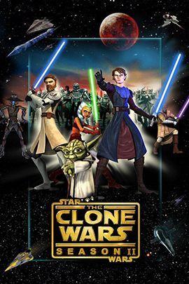 星球大战:克隆人战争 第二季的海报