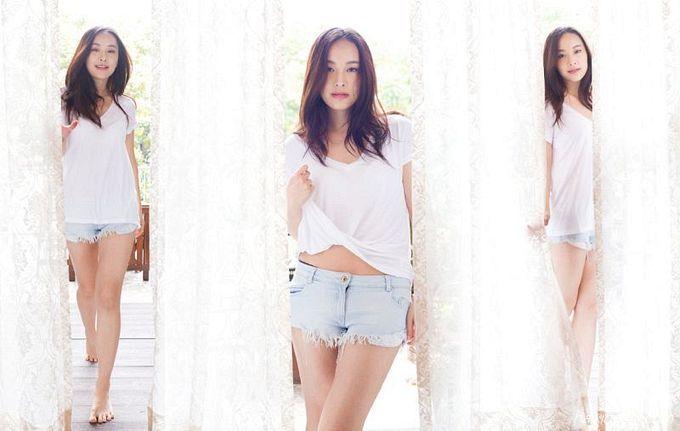 Jeannie Chan(陈滢)居家靓照9
