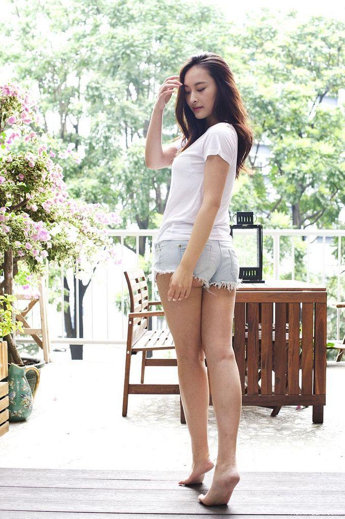 Jeannie Chan(陈滢)居家靓照14