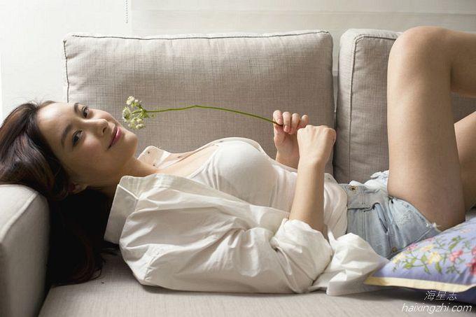 Jeannie Chan(陈滢)居家靓照2