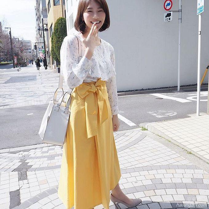 笑容太治愈,日本OL美女石井里奈满满正能量_23