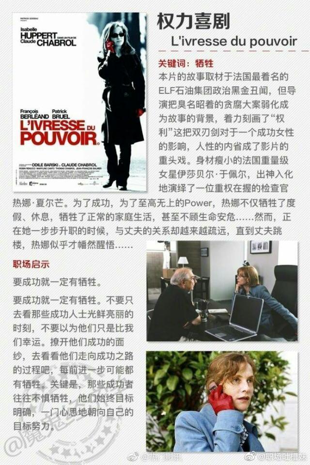 影视资讯当职场遇上电影 9部经典职场励志电影,告诉你9个必须知道的职场启示