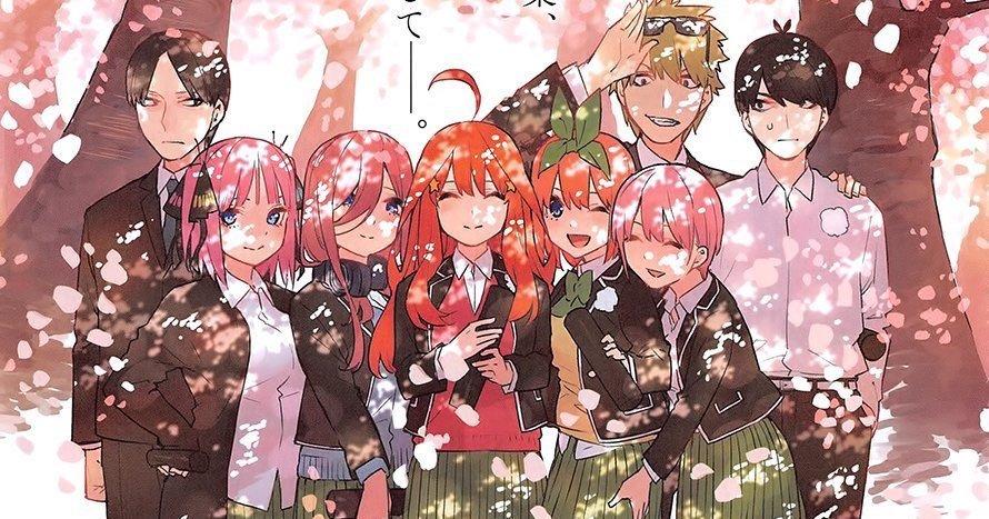 5Hanayome 五等分的花嫁 五姐妹生日