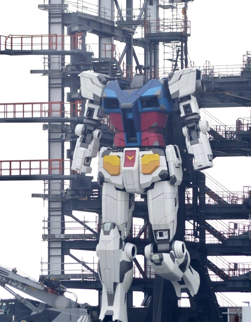 可活动高达 RX-78-2 横滨山下码头