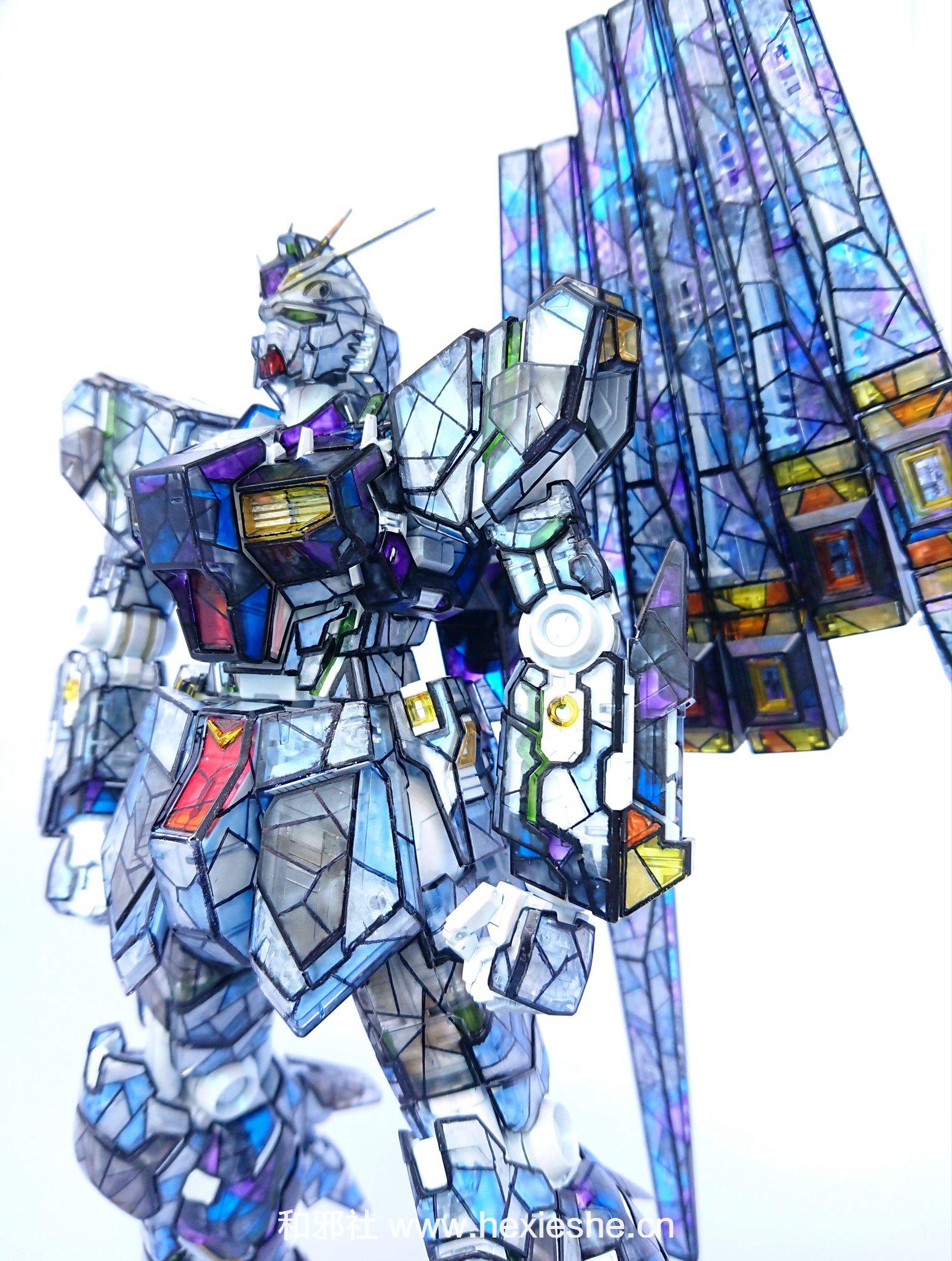 彩色玻璃RX-93 νGUNDAM_和邪社11