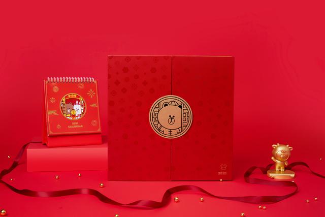 LINE FRIENDS 牛年礼盒OT0310110001(14)