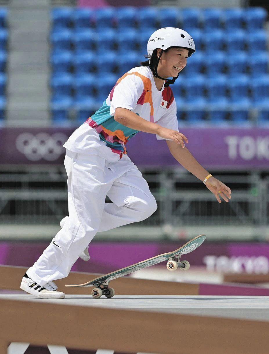 快乐元气的滑板少女西矢椛夺得奥运会冠军而逐渐改变日本人的刻板印象 (10)