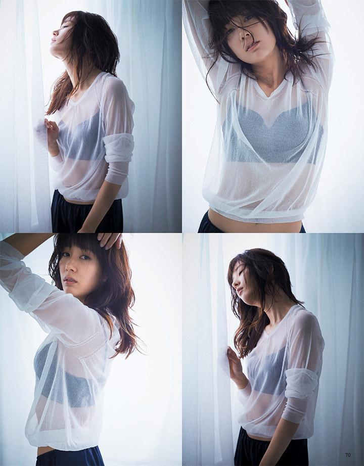 靠演技说话的水川麻美鲜有机会拍摄性感写真作品上封面杂志 (6)