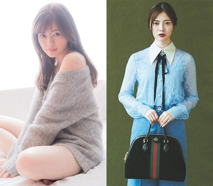 职业模特白石麻衣写真作品登上时尚杂志于国际大牌通力合作 (1)