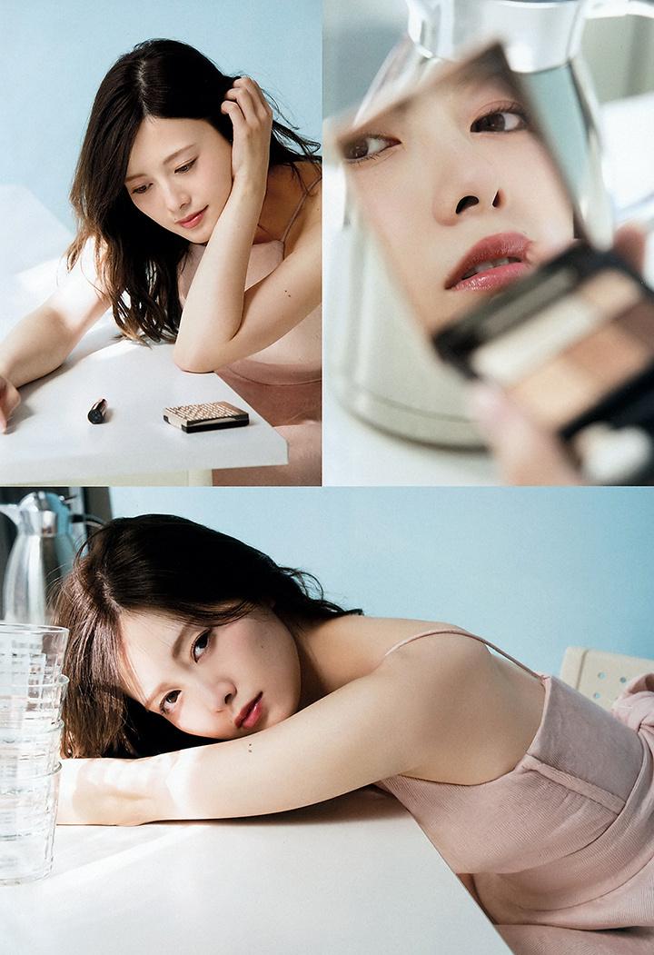 职业模特白石麻衣写真作品登上时尚杂志于国际大牌通力合作 (33)