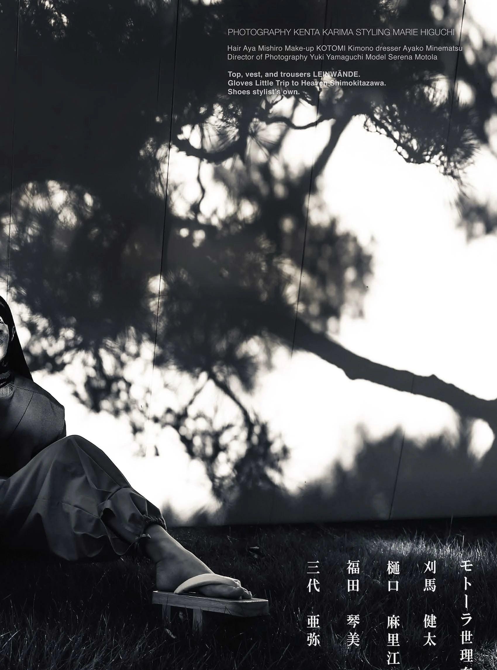 满脸雀斑却依旧很美的混血模特世理奈写真作品 (29)