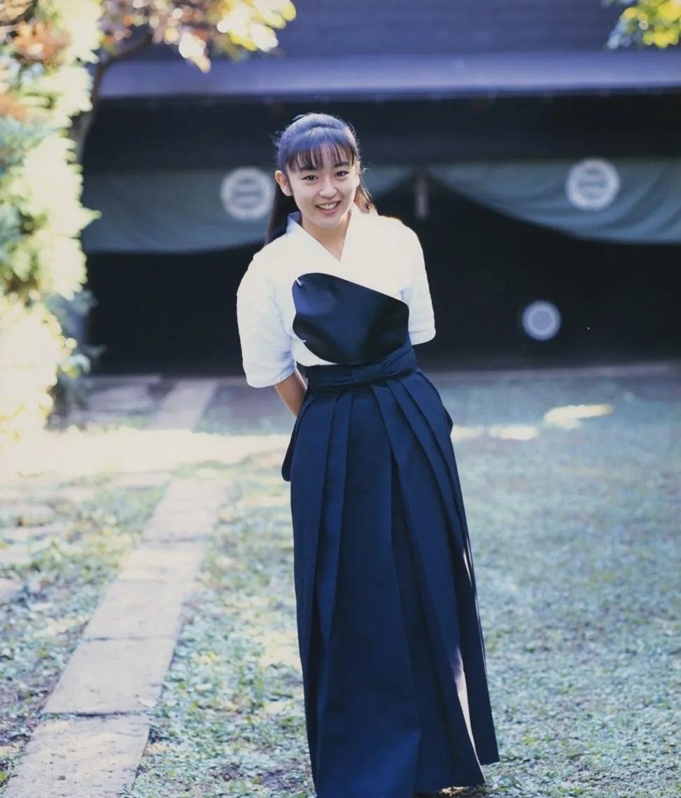 清纯玉女17岁情书中的酒井美纪写真作品 (5)