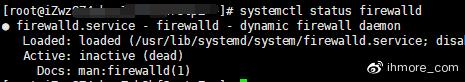 检查Firewalld状态