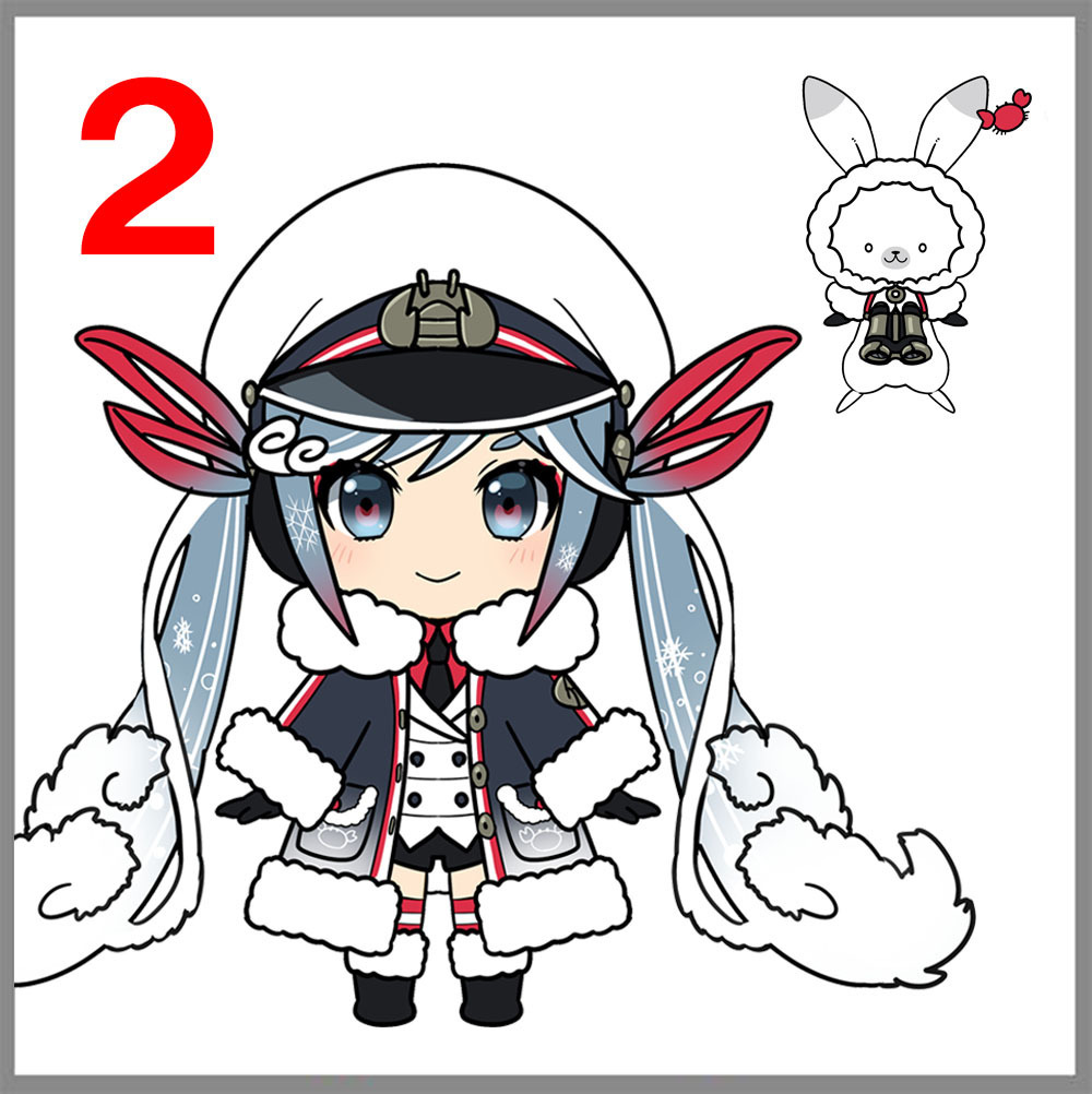 图片[4]-初音未来!2021「雪初音&兔子服装」投票结果大公开!-Anime漫趣社