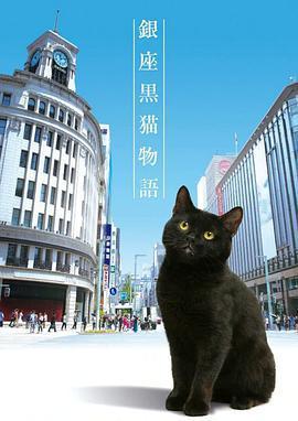 银座黑猫物语的海报