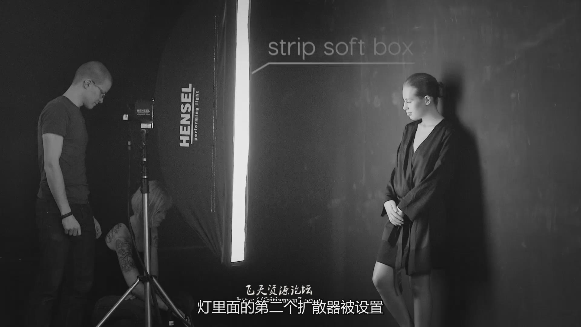 摄影教程_Fstoppers-Andreas H. Bitesnich商业人体私房摄影布光教程(中文字幕) 摄影教程 _预览图5