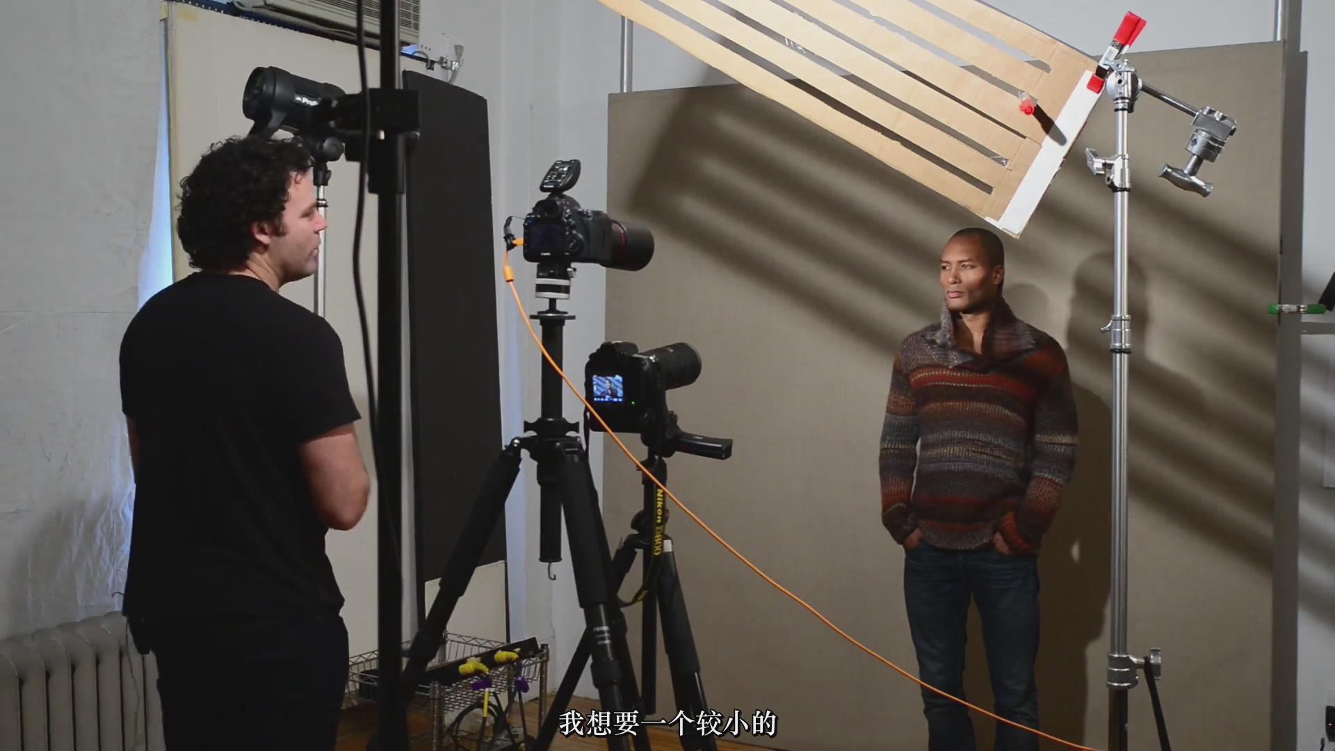 摄影教程_Fstoppers-彼得·赫利(Peter Hurley)完美头像人像面部布光教程-中文字幕 摄影教程 _预览图13