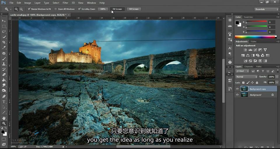 摄影教程_Jimmy McIntyre-令人惊叹的城市景观曝光混合技术教程(中文字幕) 摄影教程 _预览图17