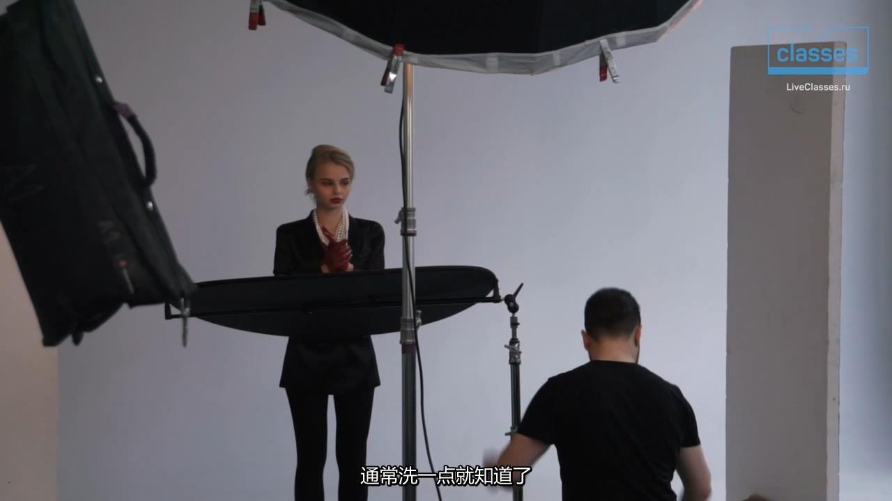 摄影教程_Liveclasses -Alexander Talyuka棚拍模拟自然光人体私房摄影-中文字幕 摄影教程 _预览图4