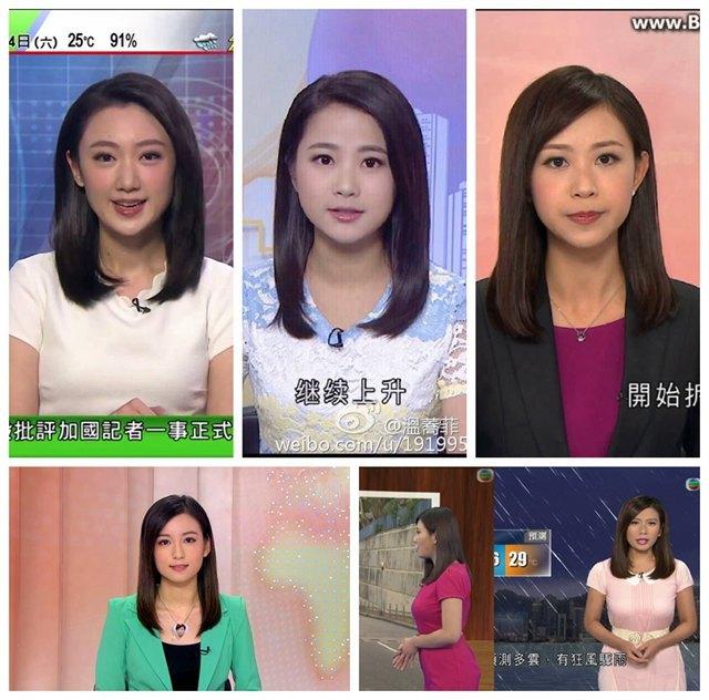 TVB新闻女主播大盘点,这5位美女女播你最喜欢哪个呢?插图