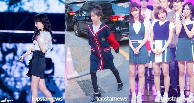 韩国女团都是大长腿?其实这些女团成员身高都没超过160插图