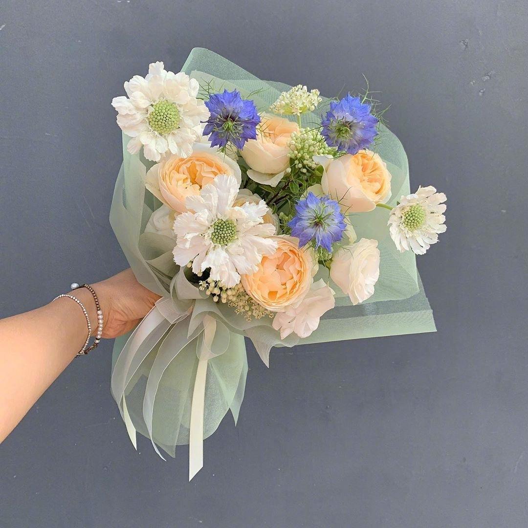 一束花带来一天好心情 第1张