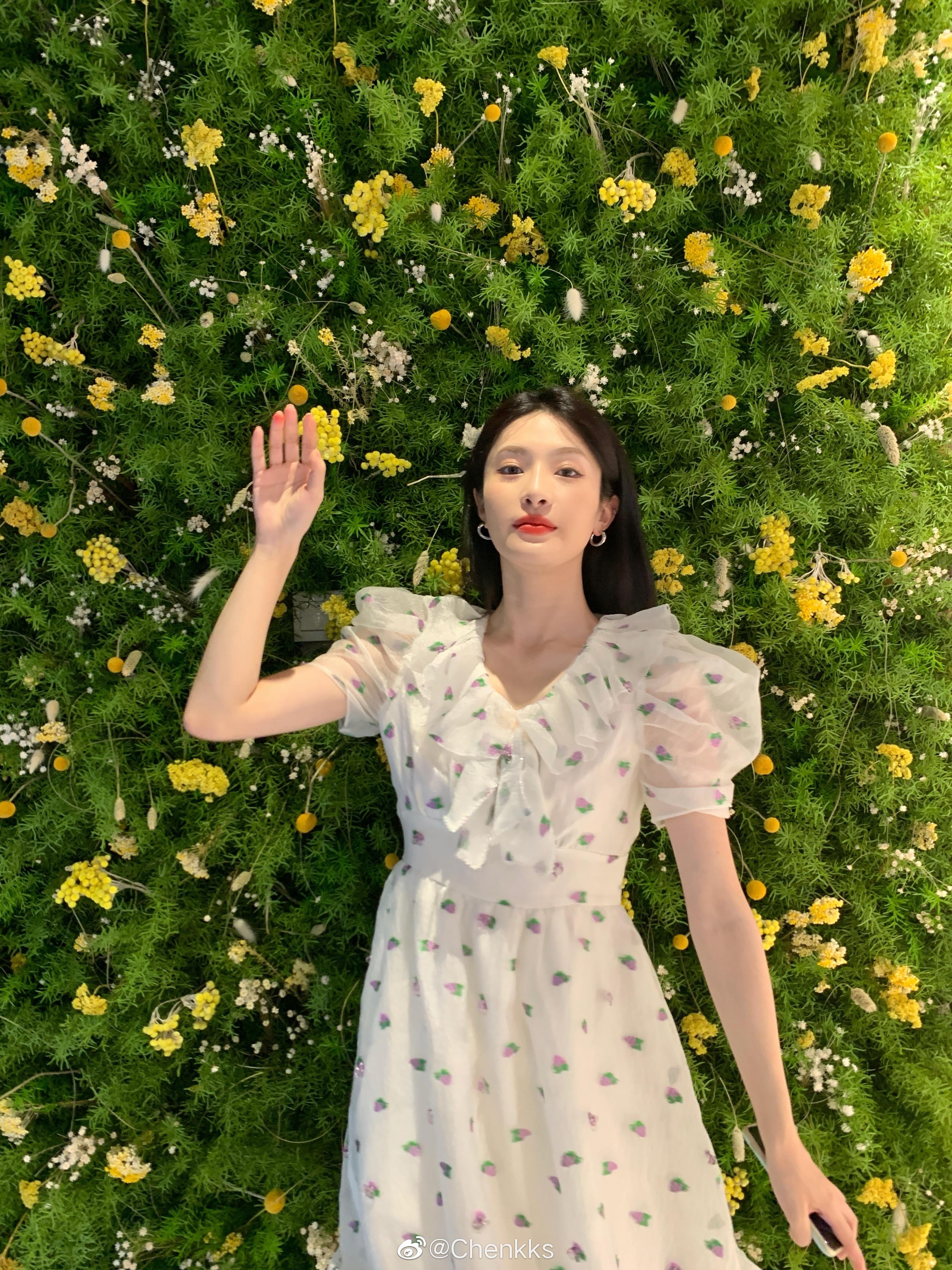 公主日记前几天去上海啦!感谢娇兰邀请美女