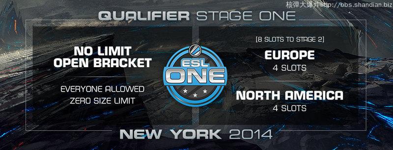 ESL ONE New York 2014