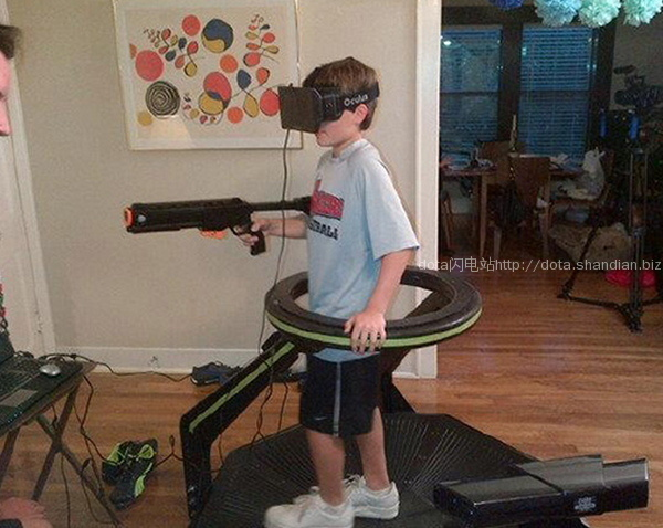 Oculus Rift虚拟场景游戏