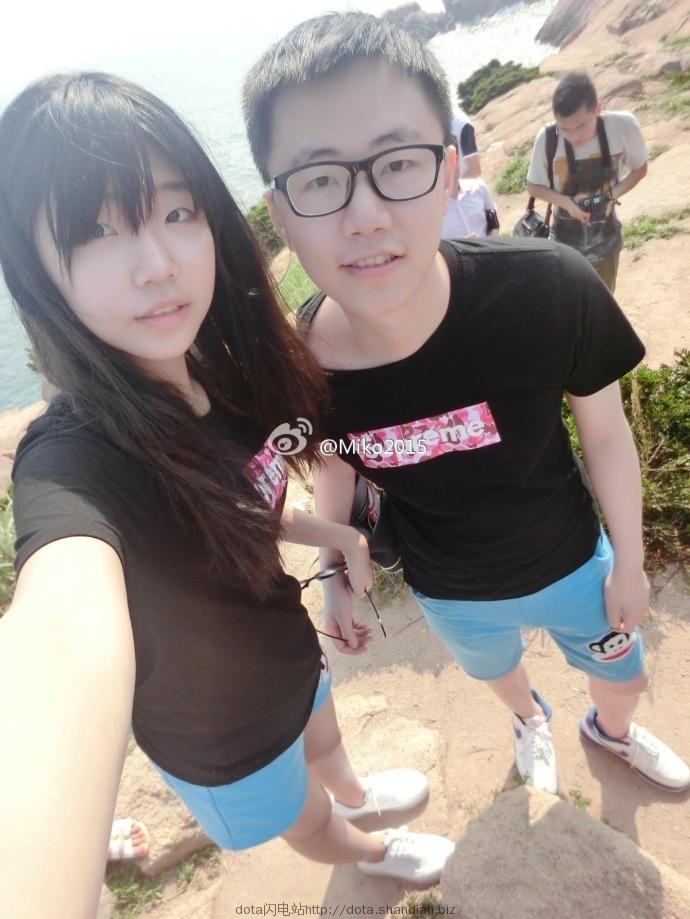 09和妻子miko2015合照