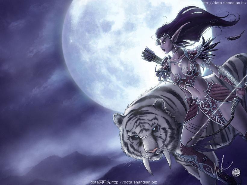 dota白虎月亮
