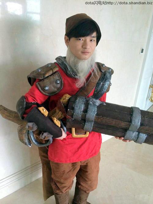 longdd cosplay火枪