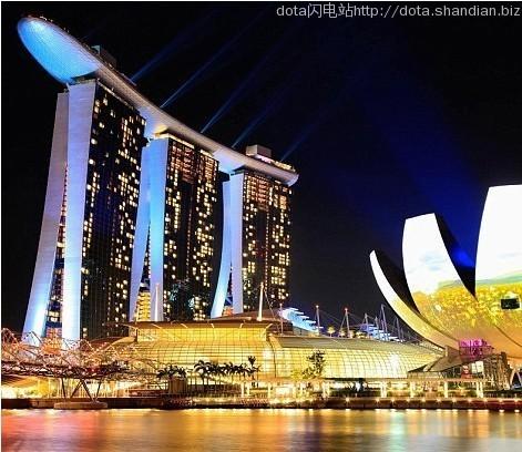 新加坡滨海湾金沙酒店空中花园