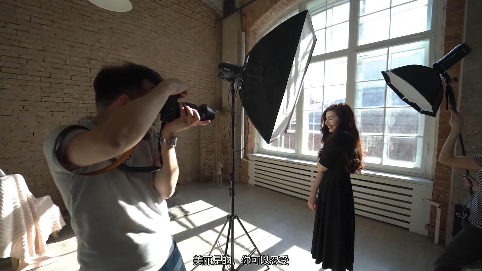 摄影教程_Alexey Gaidin实践30多种人造光闪光灯摄影布光教程-中文字幕 摄影教程 _预览图4