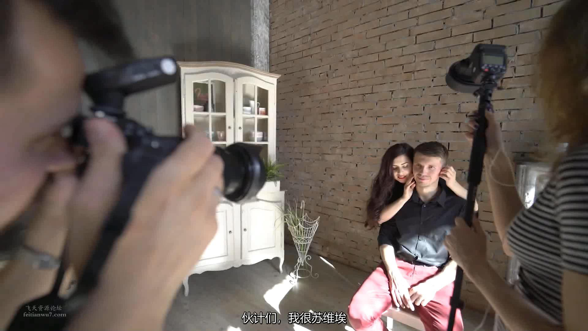 摄影教程_Alexey Gaidin实践30多种人造光闪光灯摄影布光教程-中文字幕 摄影教程 _预览图11