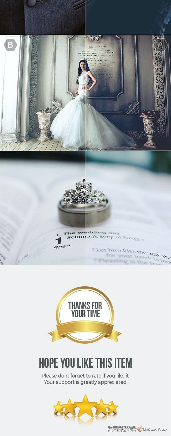 40组专业婚礼婚纱摄影后期Lightroom预设40 Pro Wedding Lightroom Presets Lightroo (4)