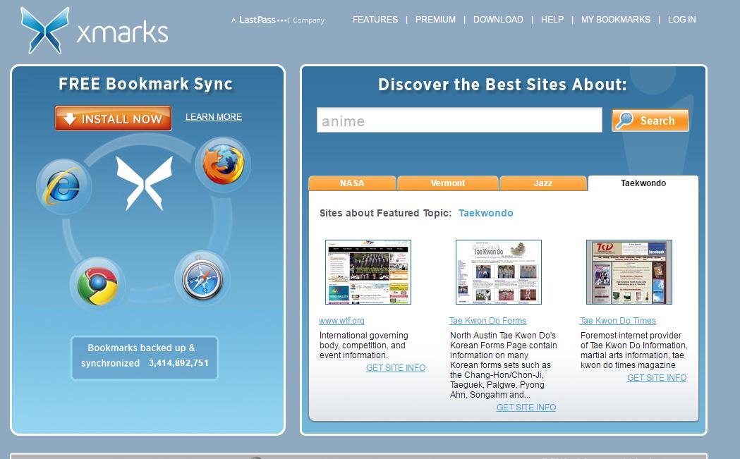 扩展推荐  自带福利的多平台浏览器书签同步插件-Xmarks
